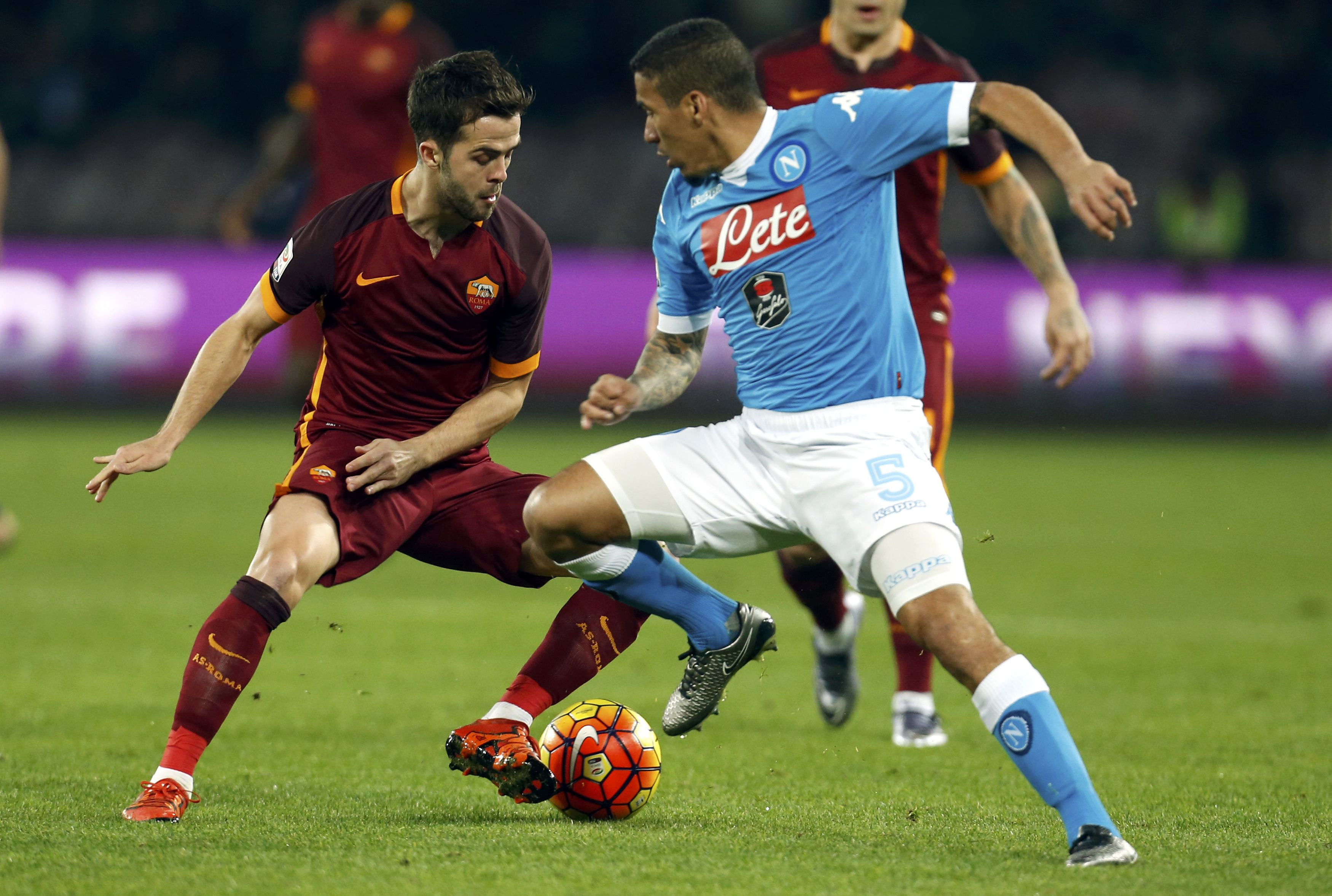Football Soccer - SSC Napoli v AS Roma - Serie A