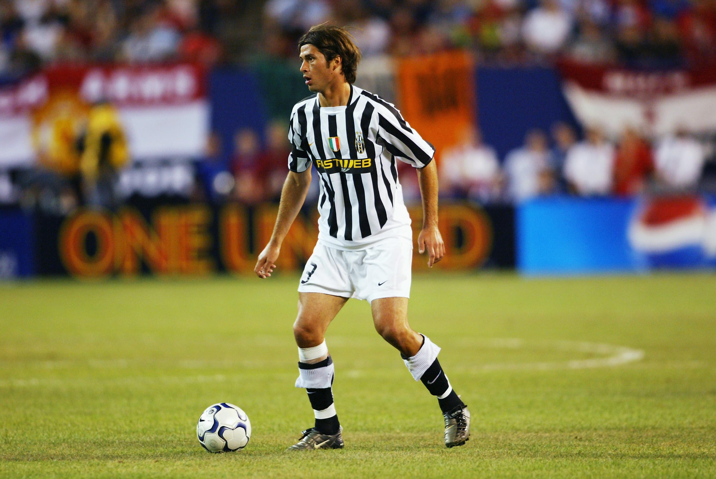 Alessio Tacchinardi of Juventus