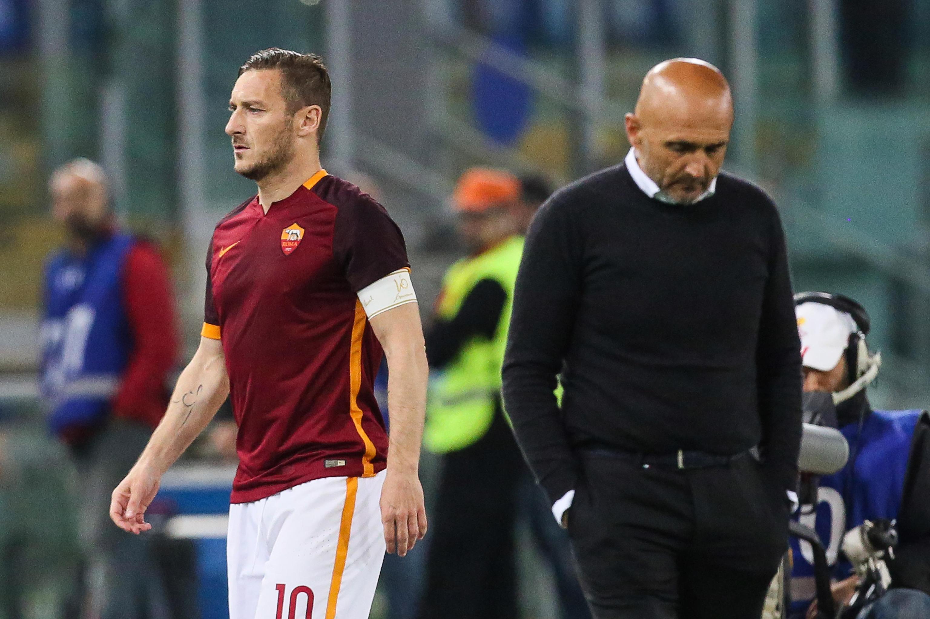 Soccer: Serie A; Roma-Bologna