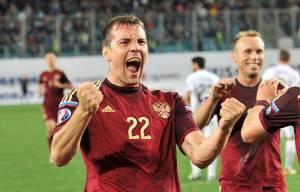 Artëm Dzjuba, attaccante della Nazionale Russa