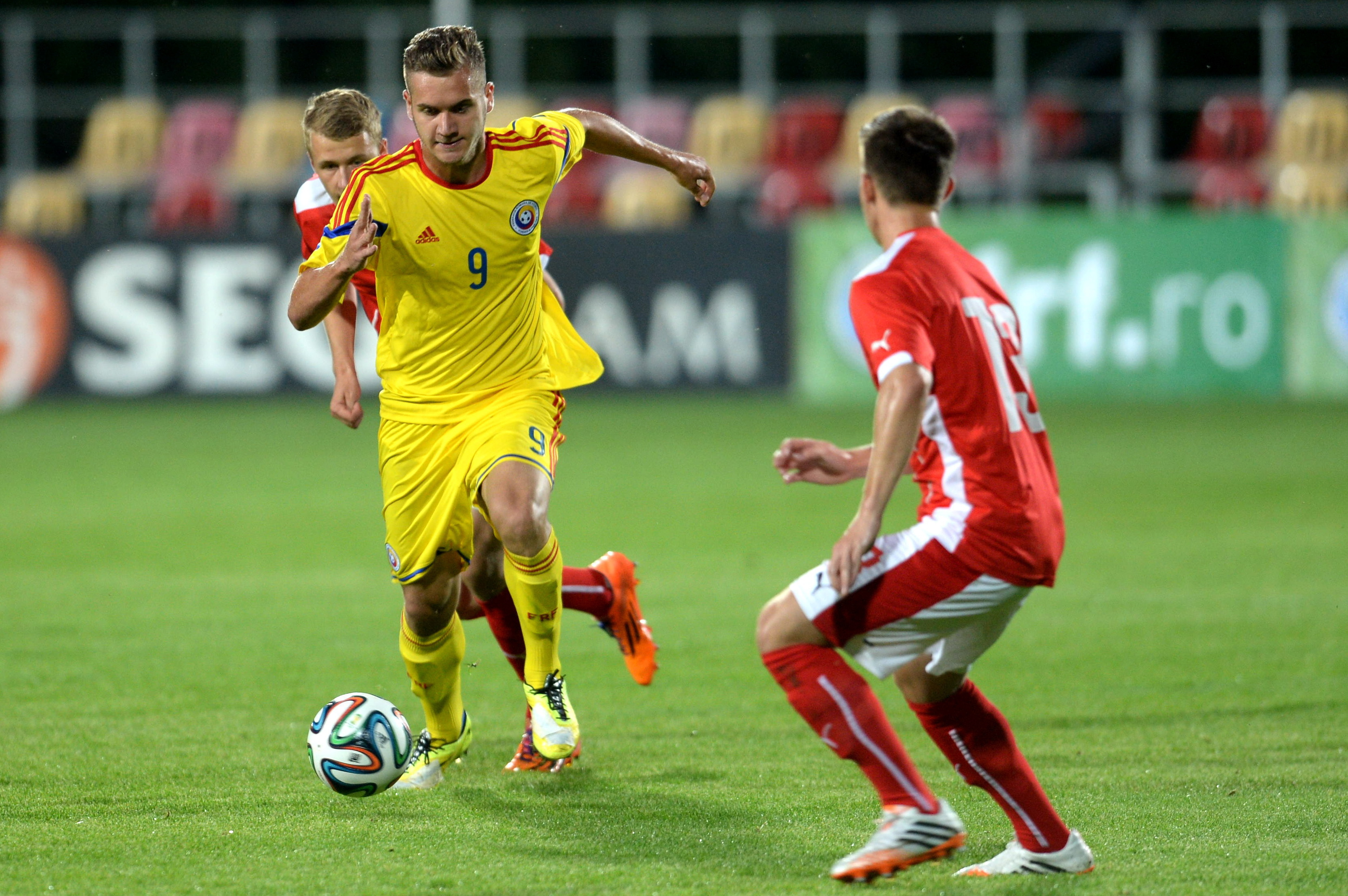 FOTBAL - AMICAL - JUNIORI - ROMANIA - AUSTRIA