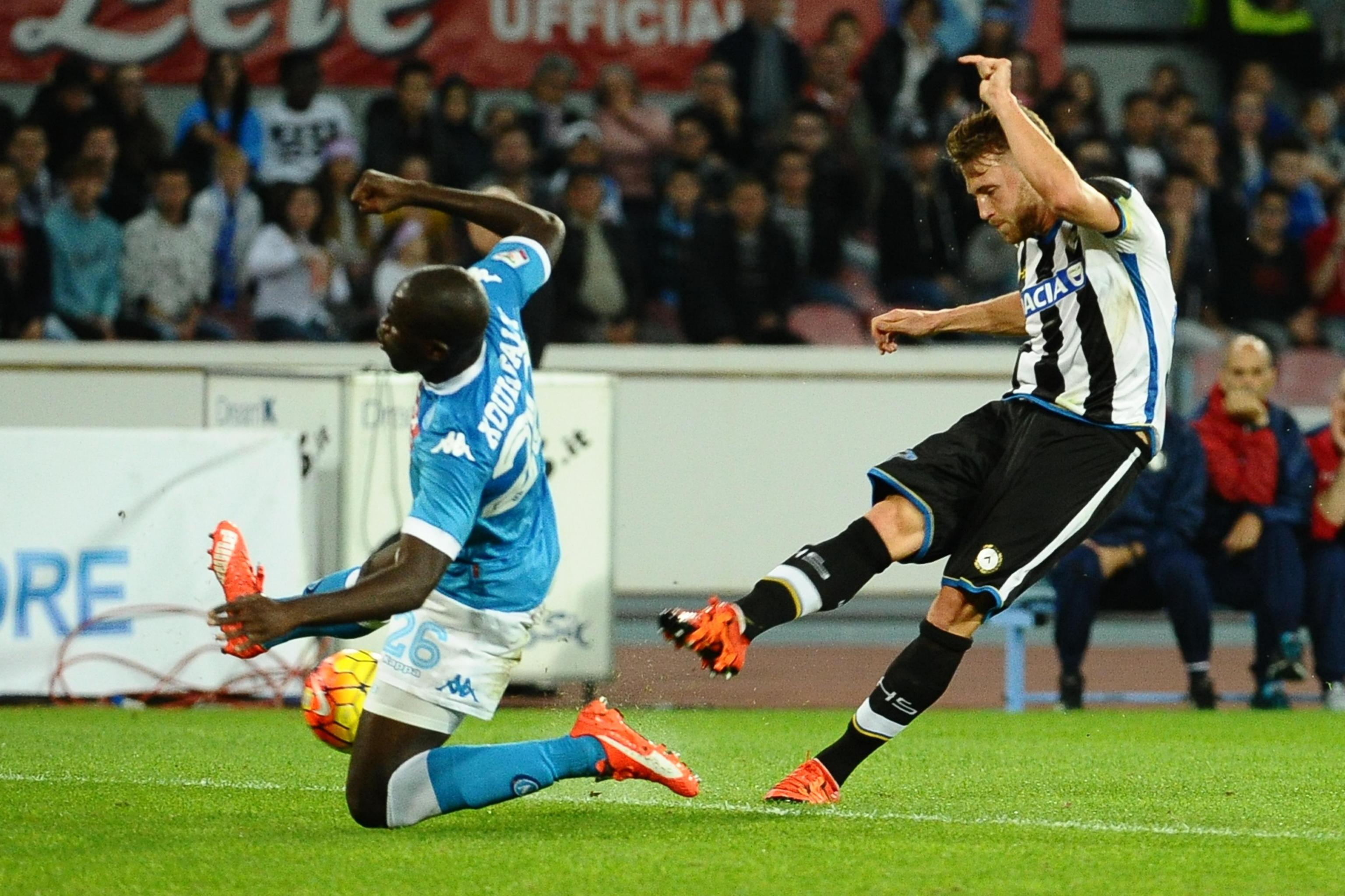 Calcio: serie A, Napoli - Udinese