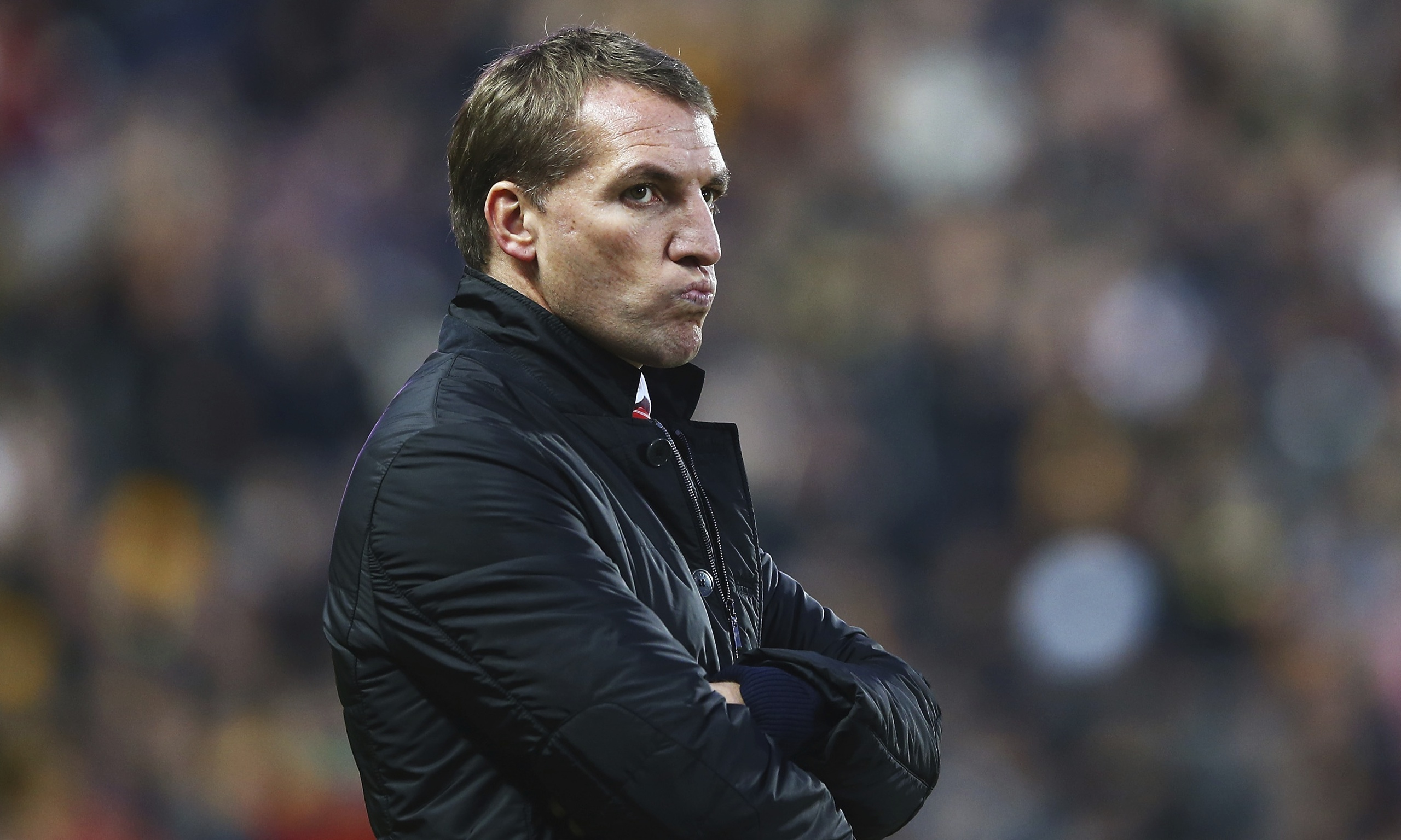 Brendan Rodgers has been on the defensive after the defeat at Hull.