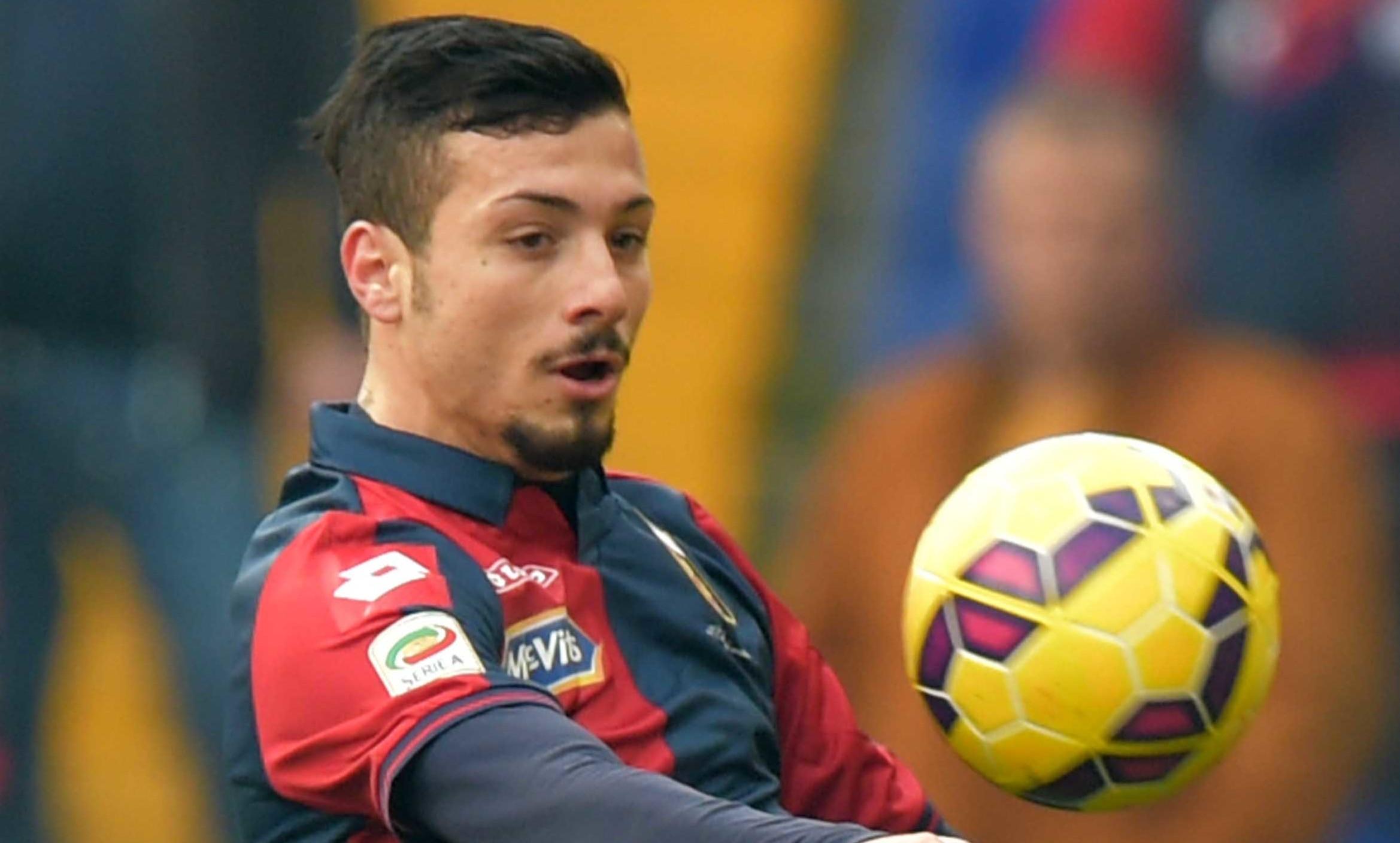 18 01 2015 Genoa - Sassuolo Campionato Serie A Tim 2014/2015