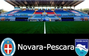 Novara-Pescara: formazioni ufficiali e radiocronaca