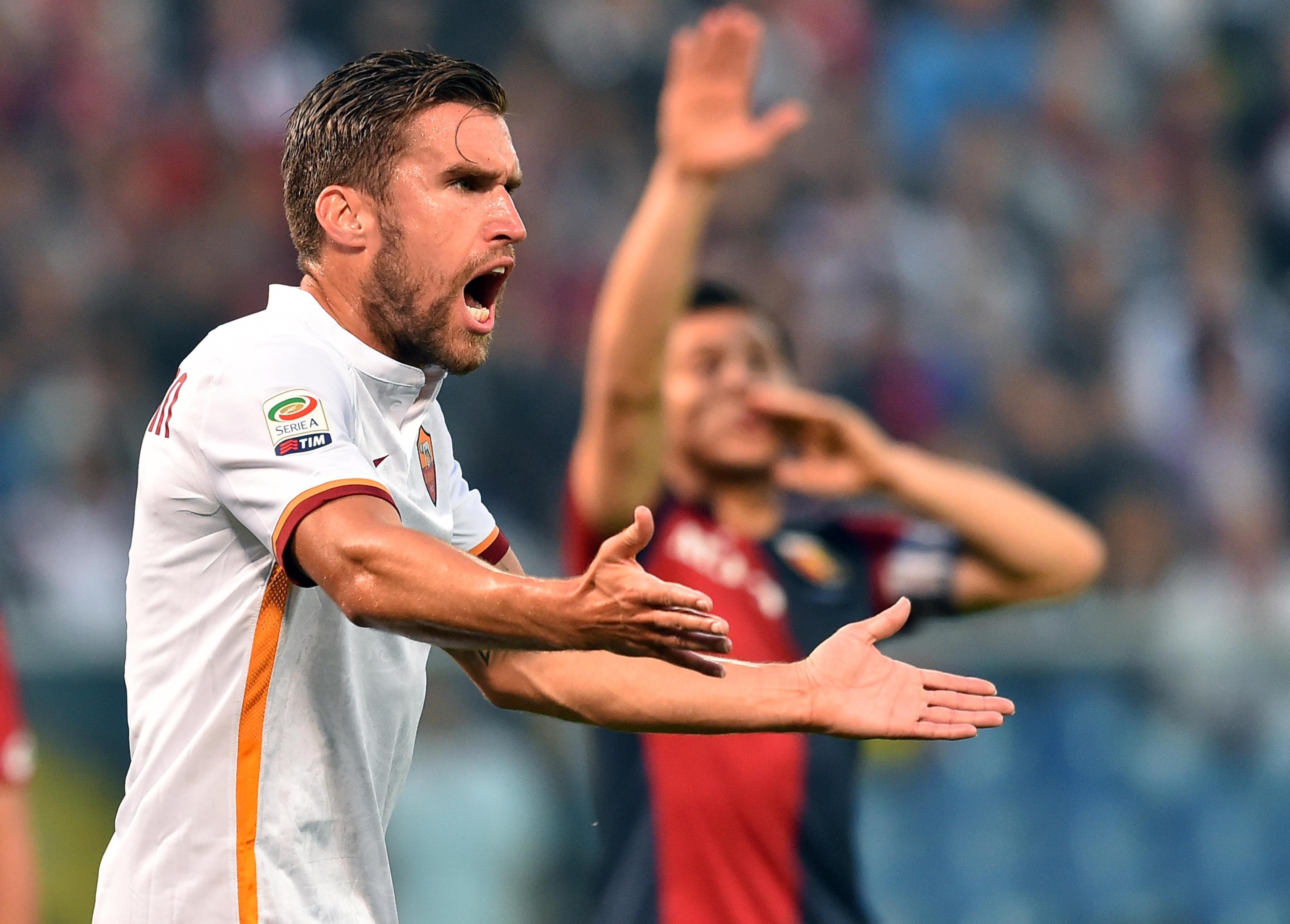 Soccer: Serie A; Genoa-Roma