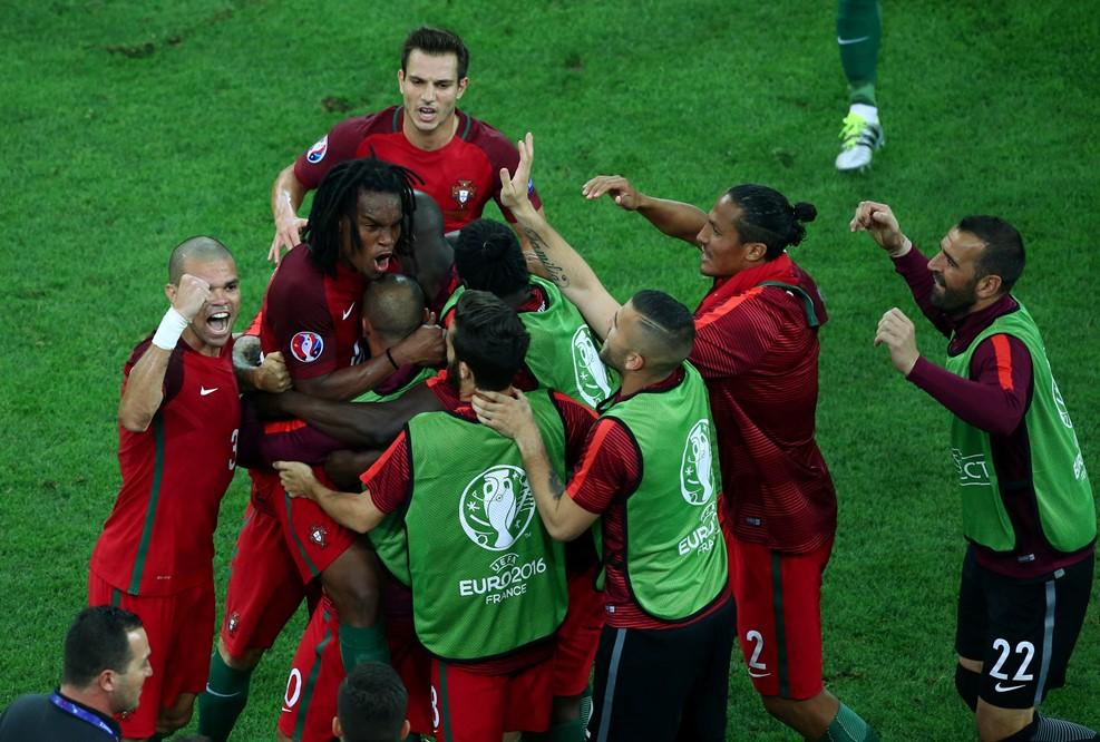 Esultanza Portogallo