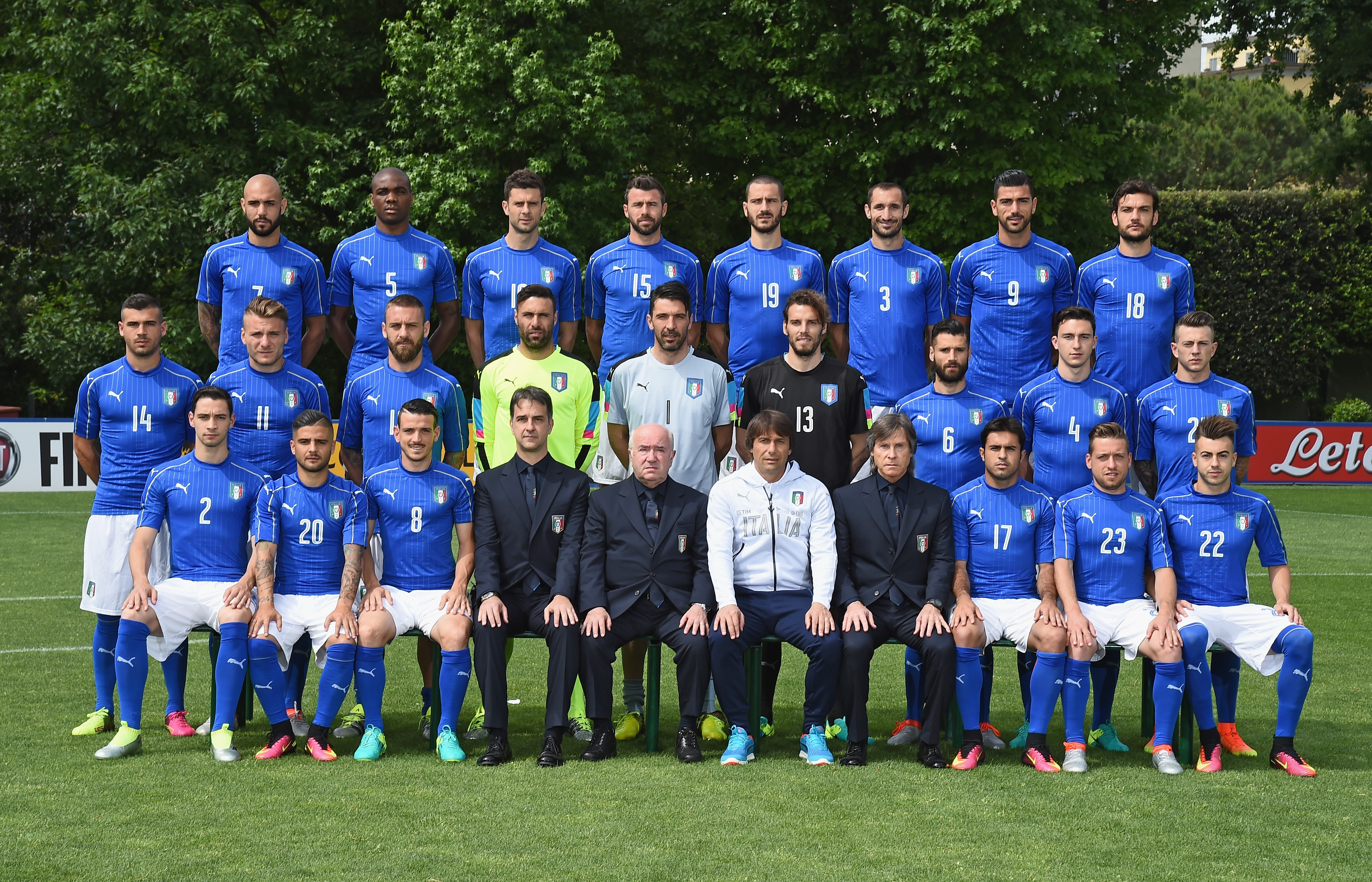 Italy Official Team Photo
