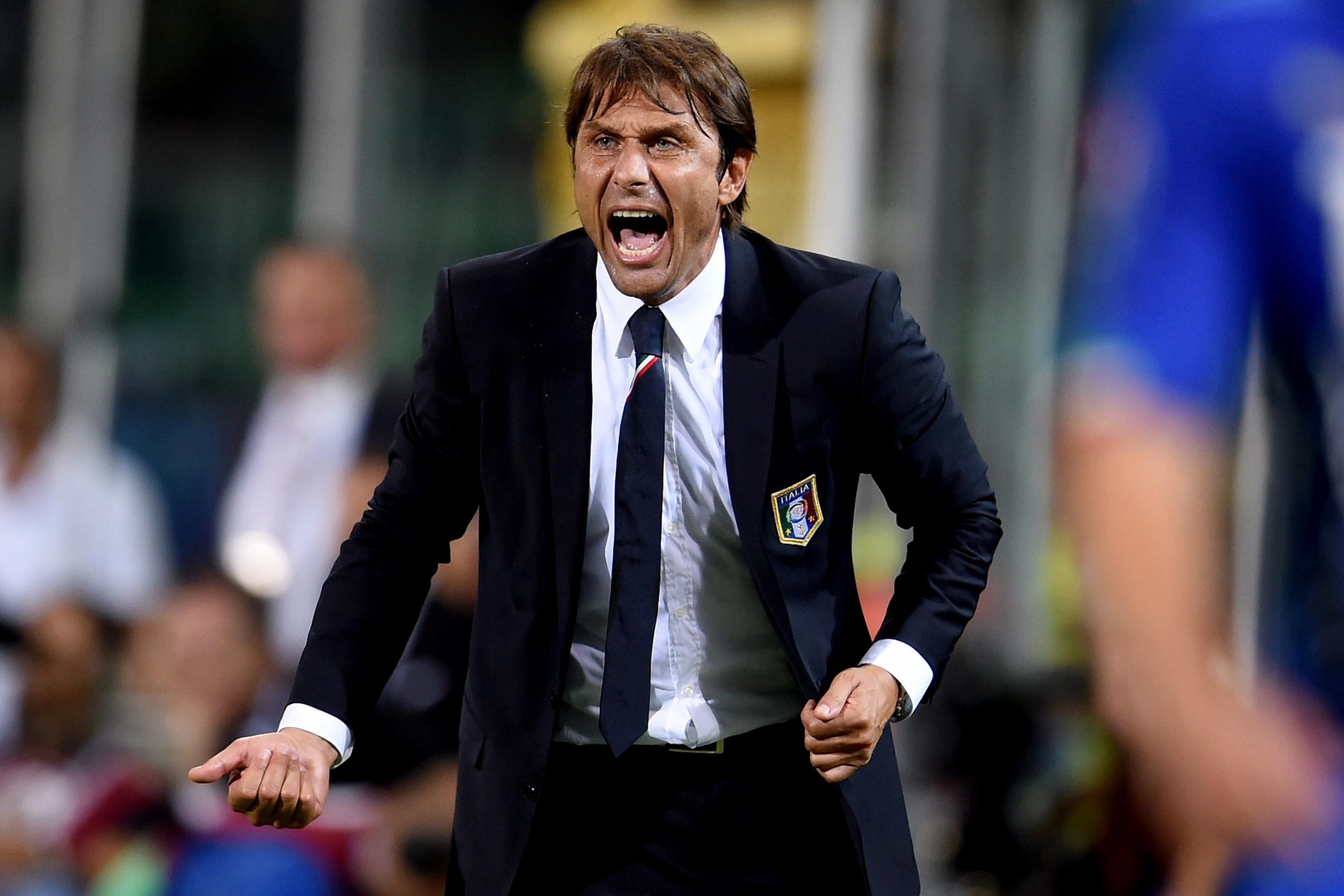 Antonio Conte, CT della Nazionale Italiana