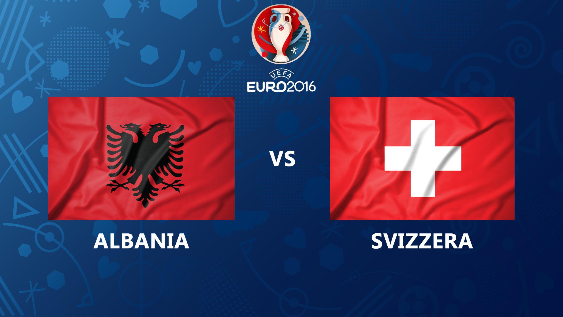 Europei-Albania-Svizzera