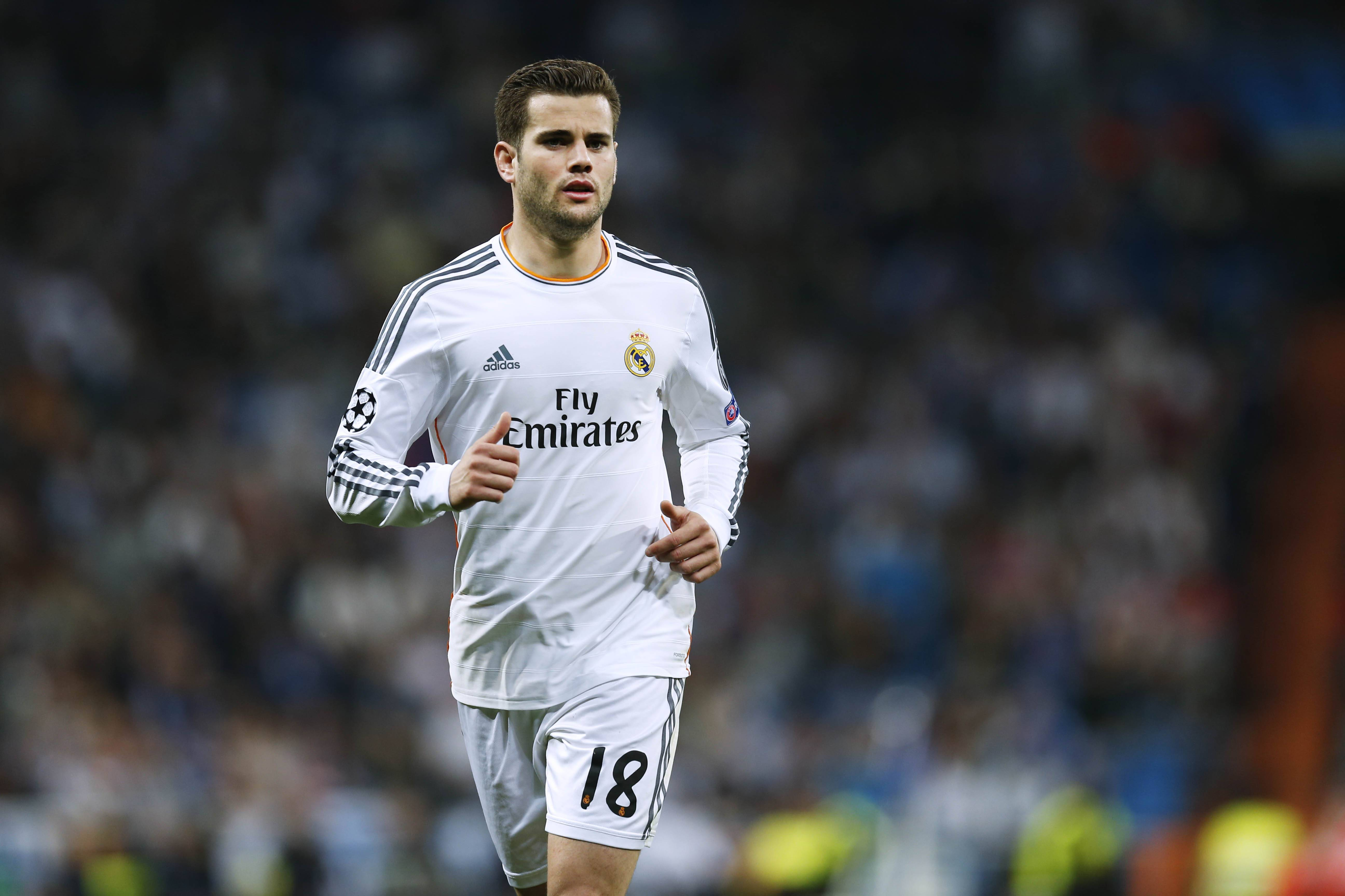 Nacho Real MARCH 18 2014 Football Soccer UEFA Champions League Round of 16 2nd leg match