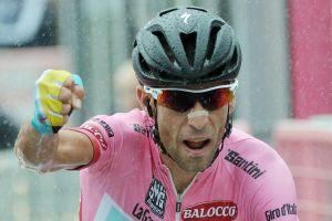 Nibali maglia rosa