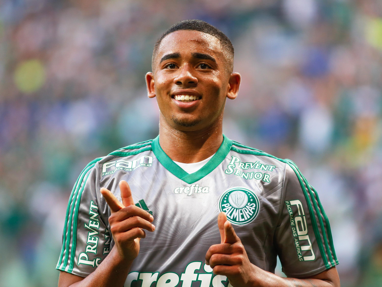 Gol de Gabriel Jesus - Palmeiras e Joinville