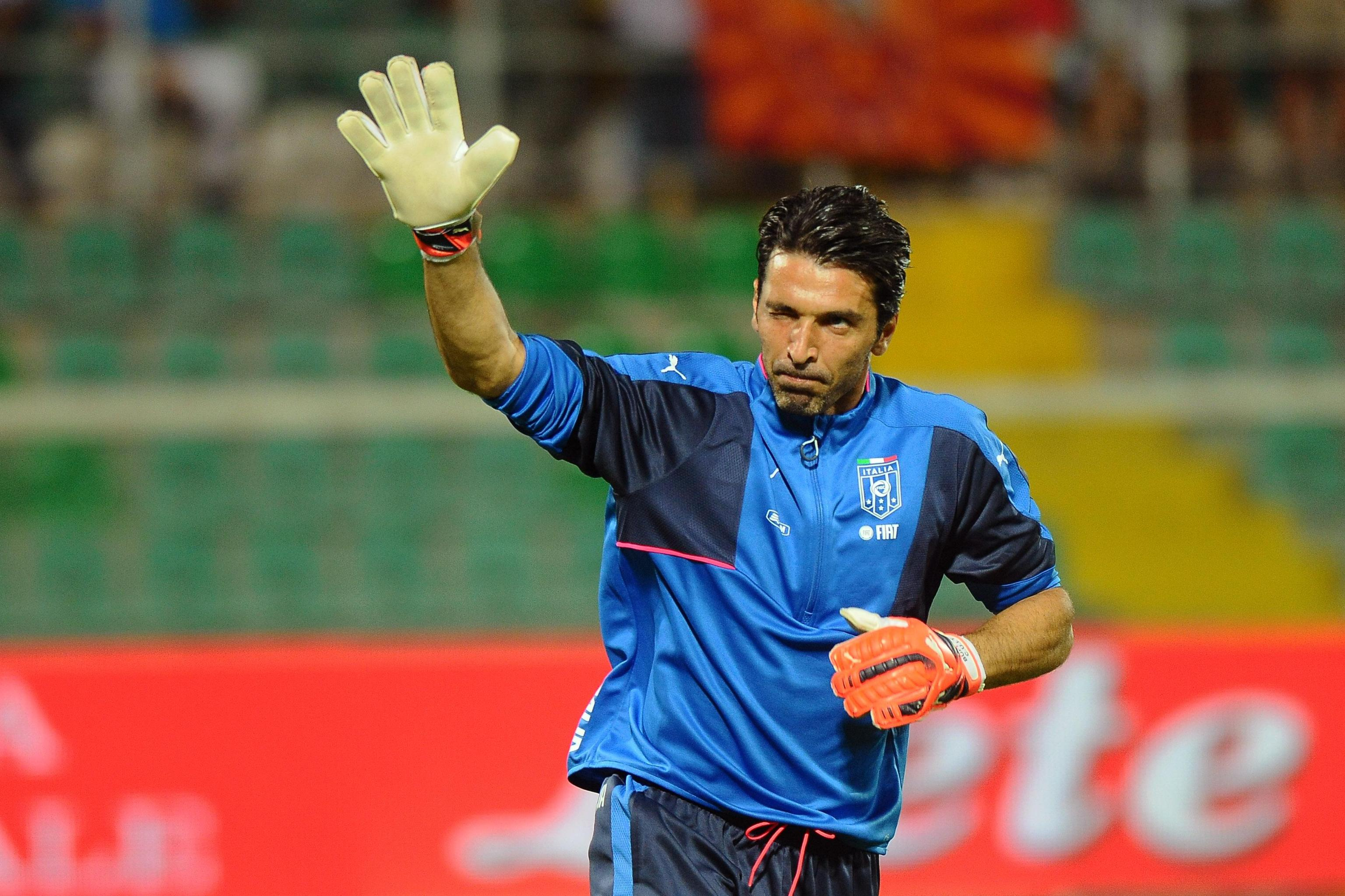 Soccer: Italy-Bulgaria