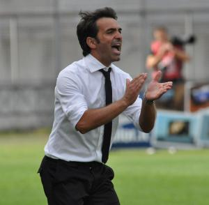 Fabio Pecchia (43 anni) attuale tecnico dell'Helas Verona
