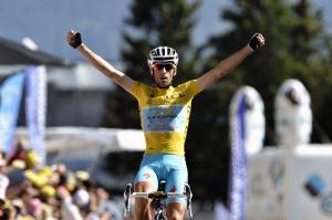 Nibali maglia gialla