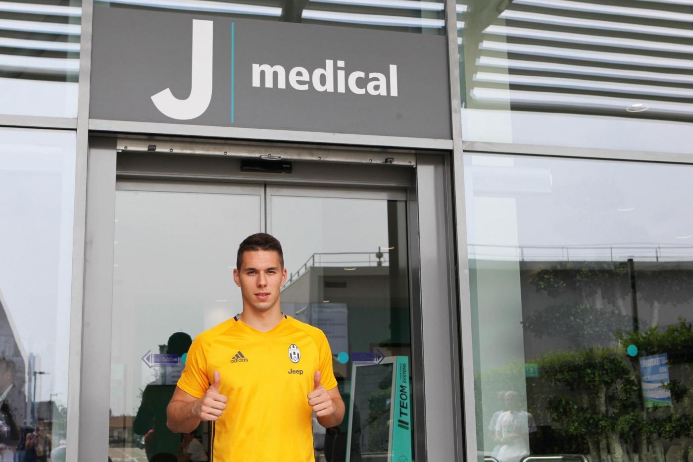 Juventus, visite mediche al J Medical per Marko Pjaca