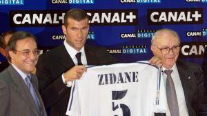 Con camiseta blanca Zizou ha collezionato 115 presenze e 37 goal