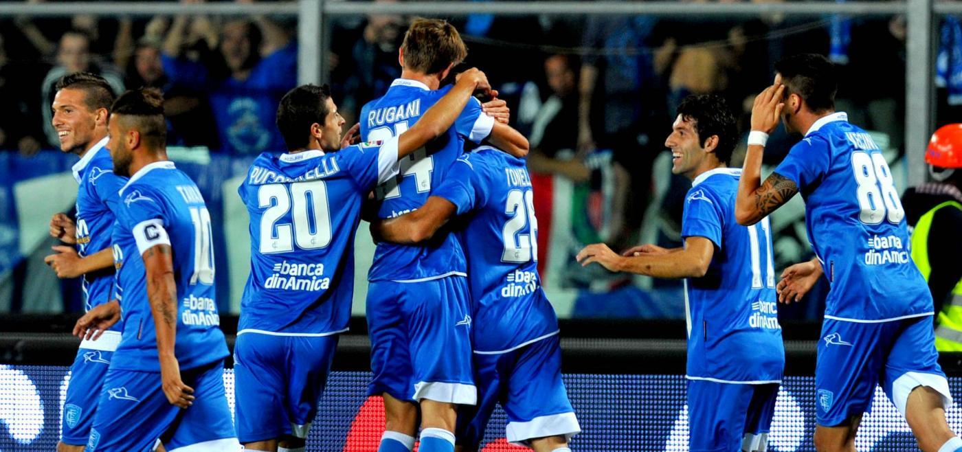 Empoli vs Milan - Serie A Tim 2014/2015