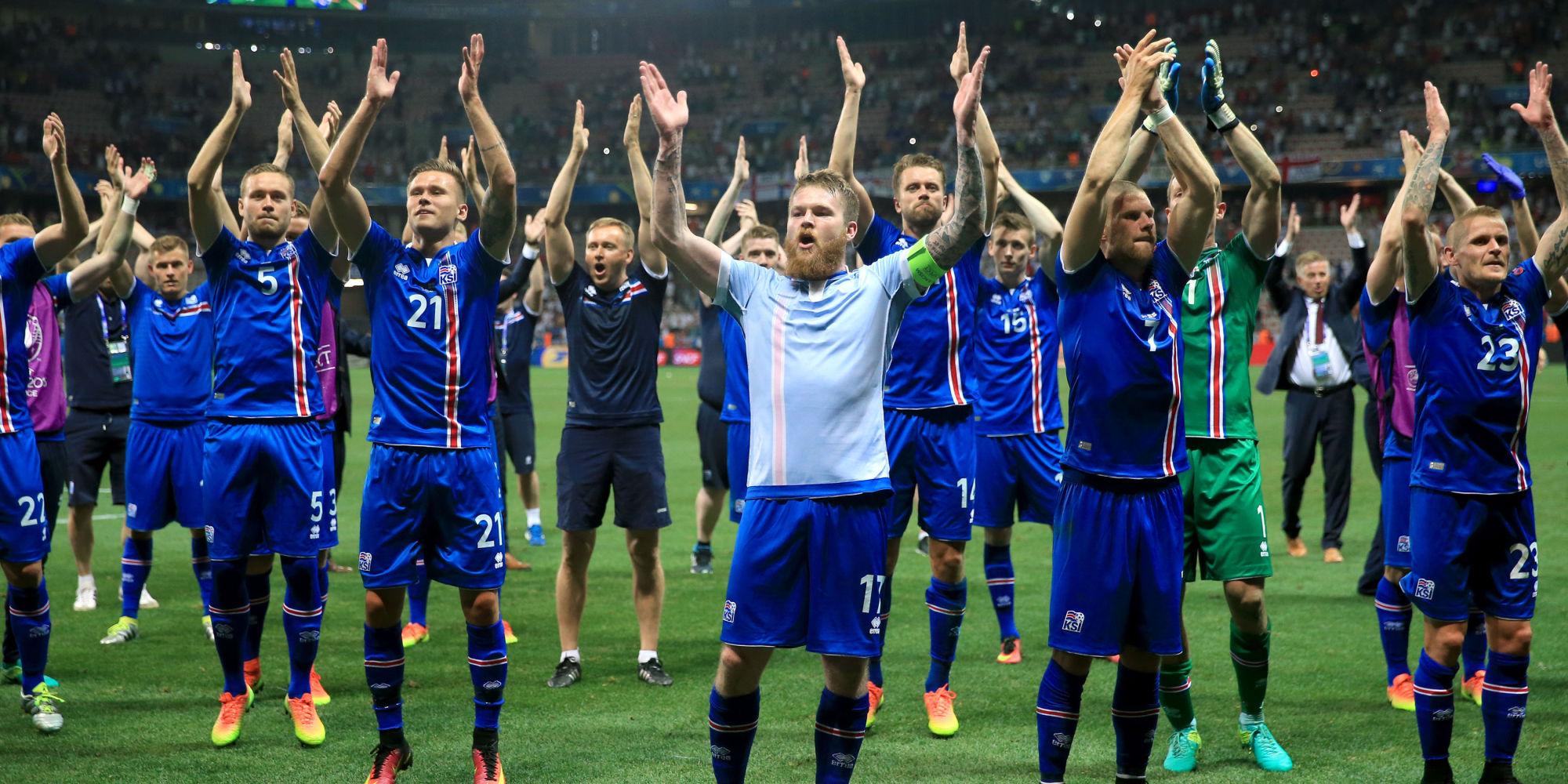 Inghilterra vs Islanda - UEFA Euro 2016
