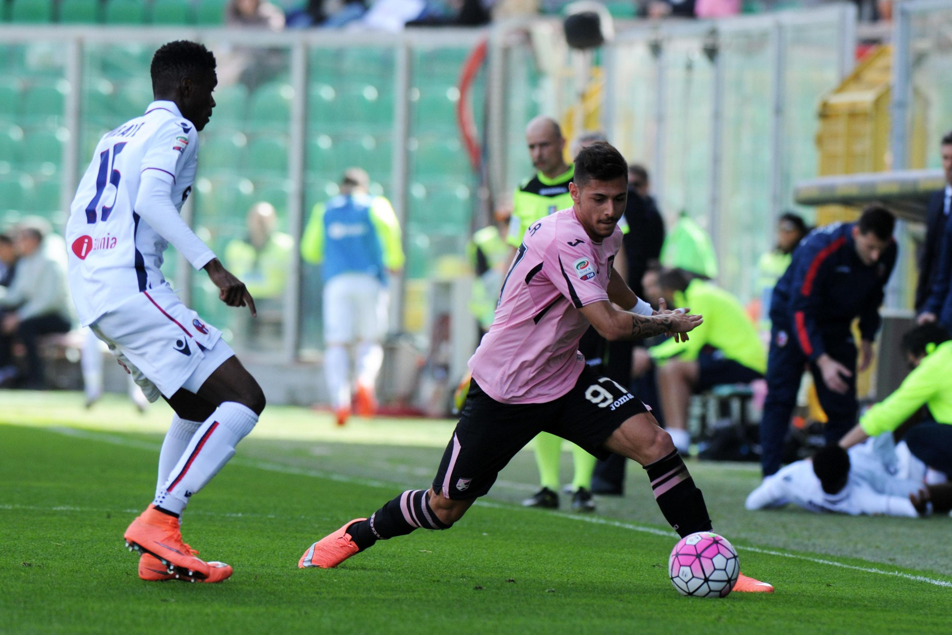 Calcio: serie A, Palermo-Bologna