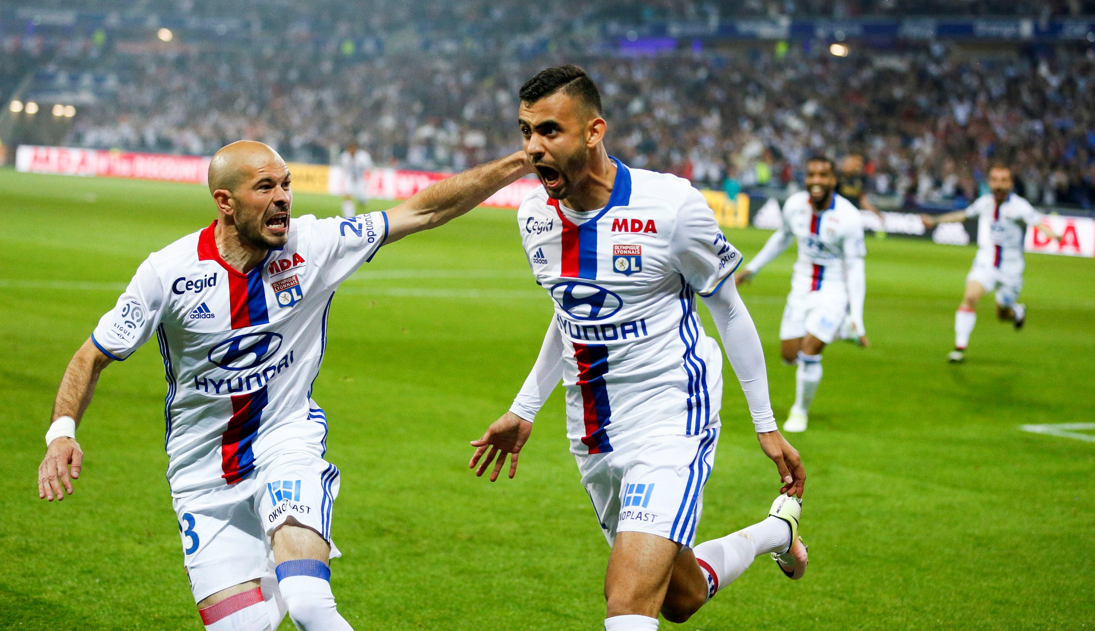 Olympique Lione vs Monaco - Ligue 1