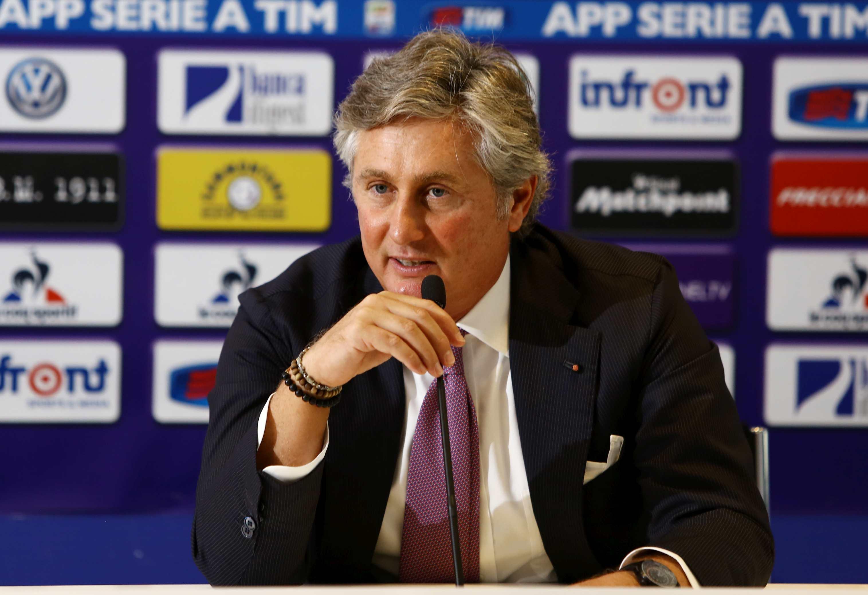 Sampdoria, presentato Pradè in conferenza: