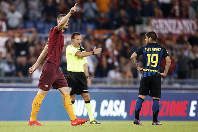Soccer: serie A, As Roma ? FC Inter