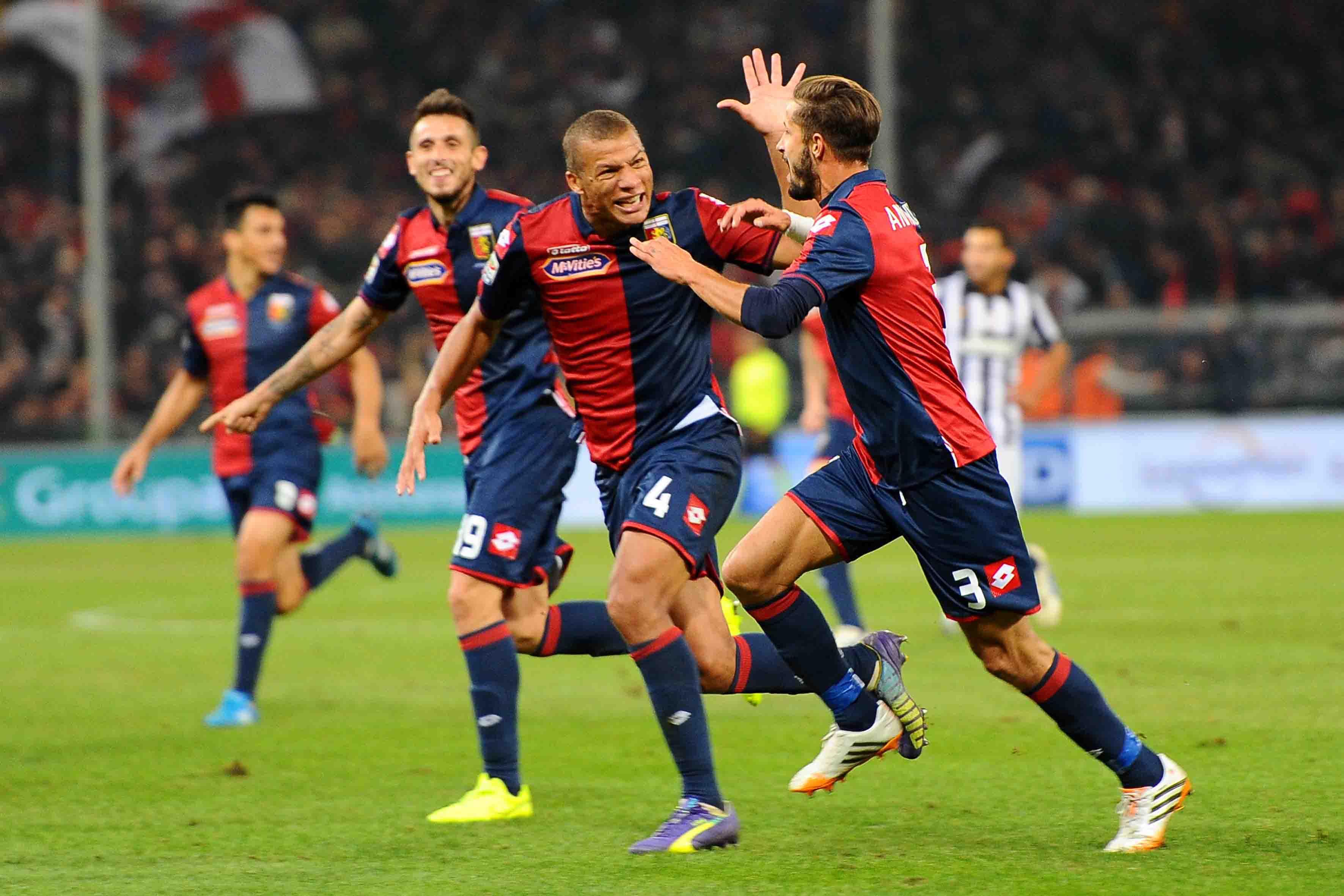 29-10-2014 Genoa - Juventus Serie A Tim 2014/2015