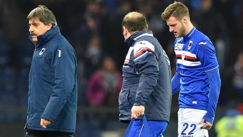 Calcio: serie A, Sampdoria-Torino