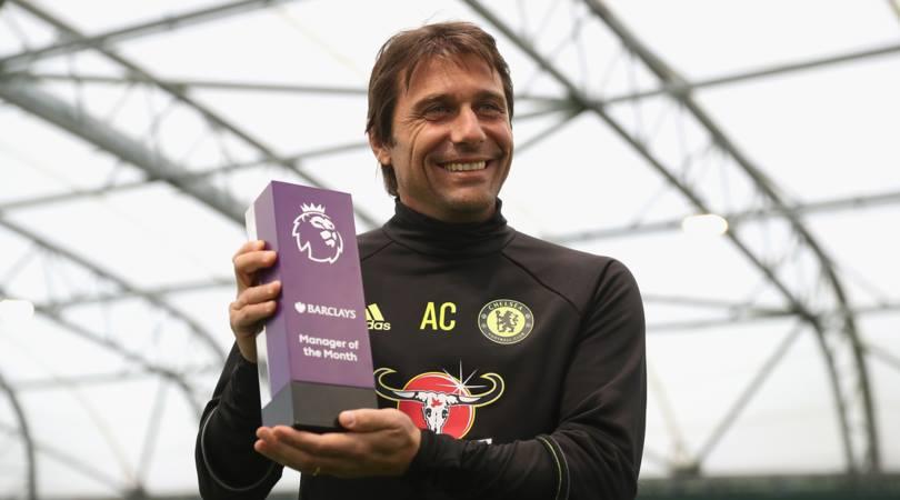 Conte nominato allenatore del mese in Premier League