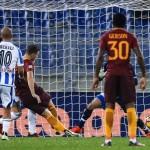 Soccer: serie A, Roma-Pescara