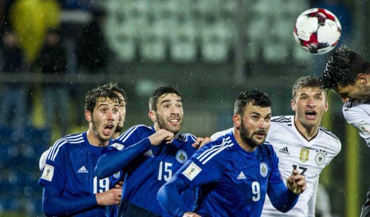 Moldavia-San Marino formazioni ufficiali