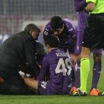 ACF Fiorentina vs Livorno - Infortunio Giuseppe Rossi