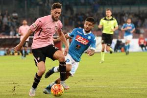 Soccer: Serie A; Napoli-Palermo