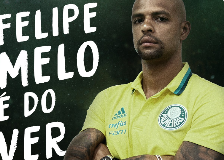 Palmeiras, ecco Felipe Melo dall'Inter