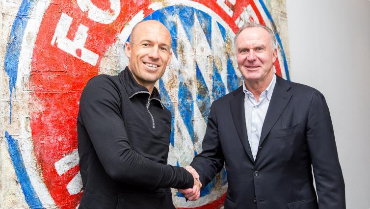 Calciomercato, ultime news Bayern Monaco ufficiale il rinnovo di Robben