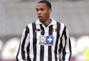 Thierry Henry of Juventus