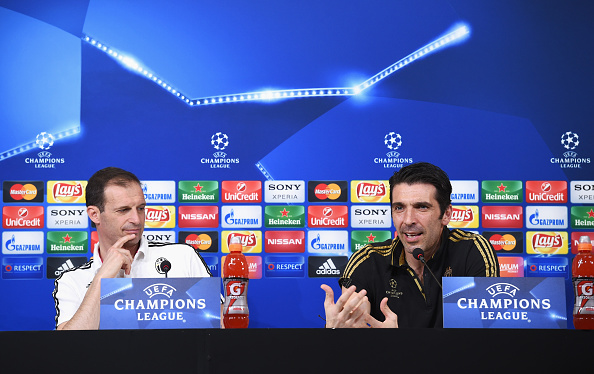 ALLEGRI-BUFFON-CONFERENZA