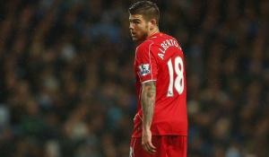Alberto Moreno of Liverpool BPI_MW_Man_City_Liverpool_50 jpg PUBLICATIONxNOTxINxUKxFRAxNEDxESPxSWExP