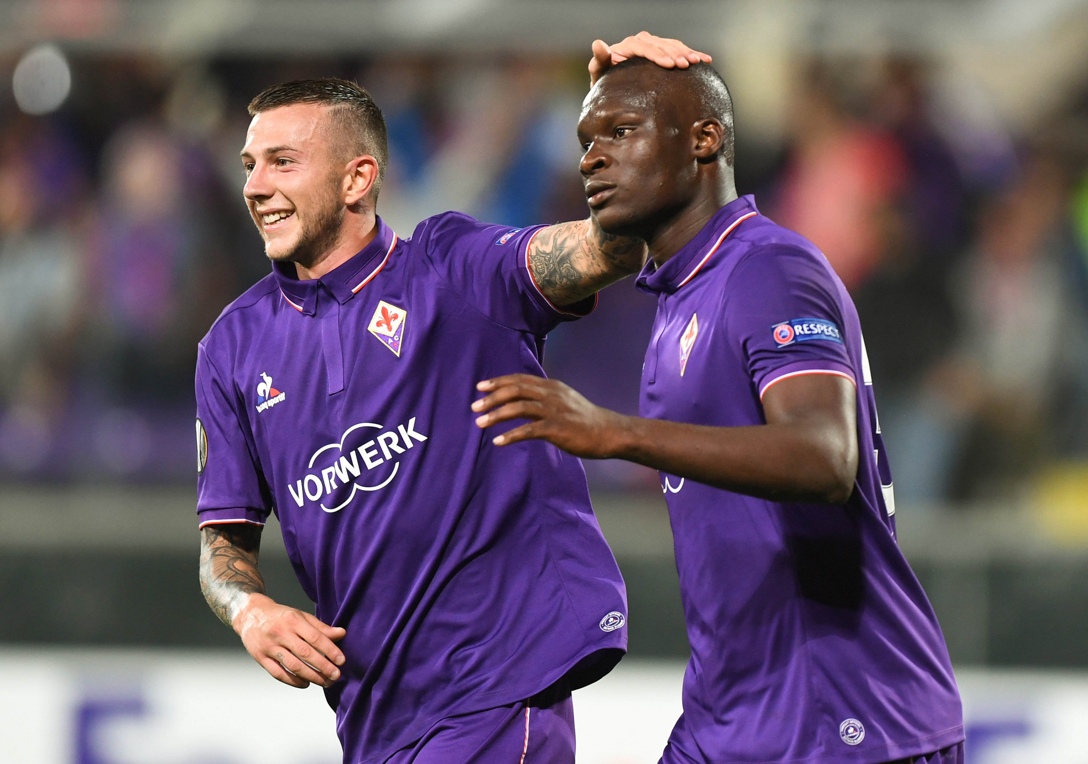 Football Soccer - Fiorentina v Qarabag - UEFA Europa League Group Stage - Group J