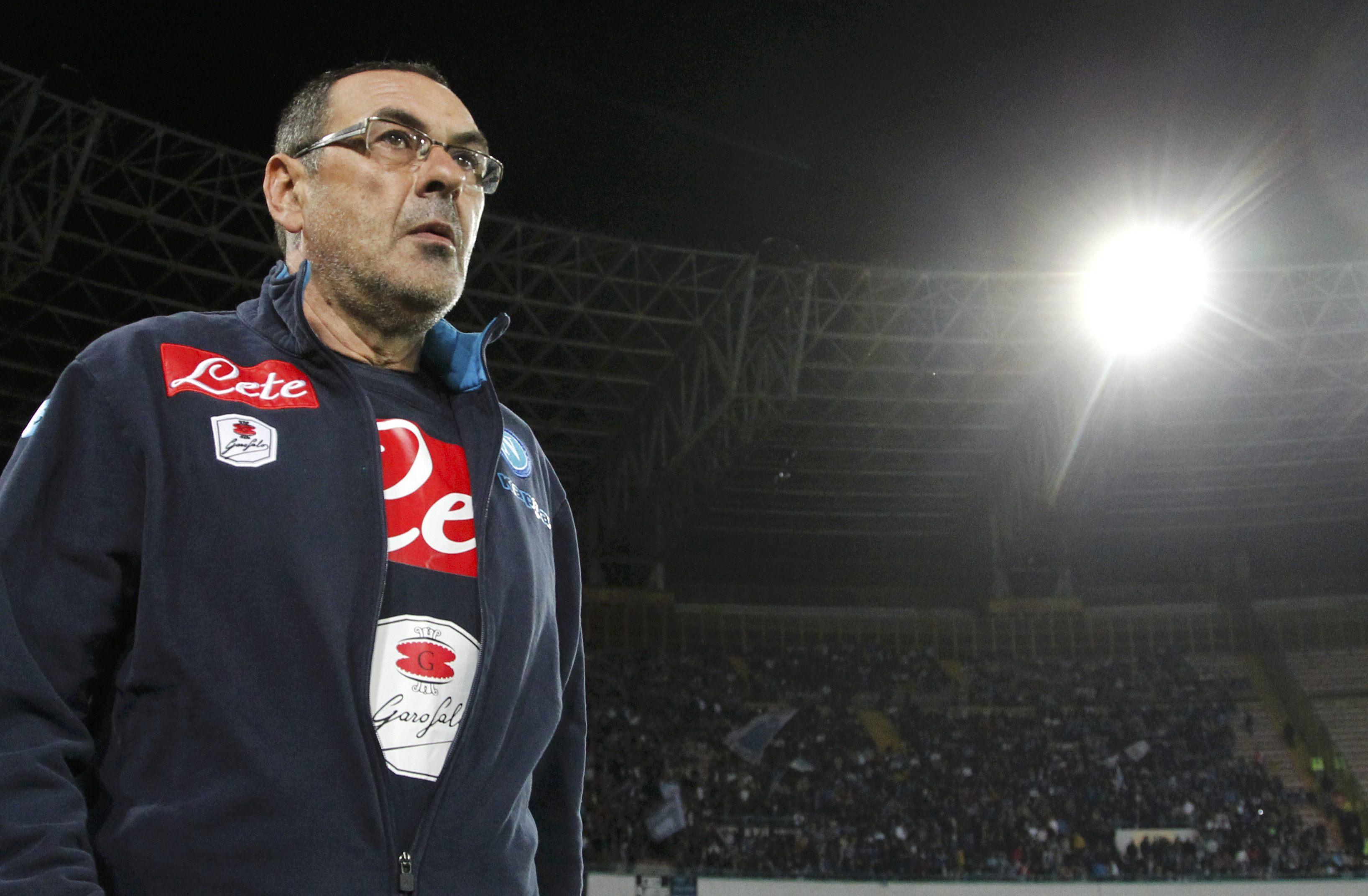 Football Soccer - Napoli v Bologna - Italian Serie A - San Paolo stadium, Naples, Italy - 19/04/16