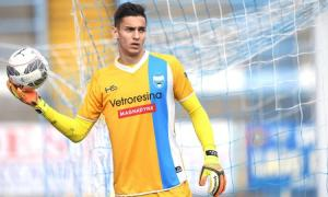 Alex Meret (20 anni) portiere della SPAL in prestito dall'Udinese