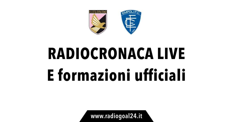 Palermo-Empoli 3-3, il tabellino. Rosanero beffati nel finale