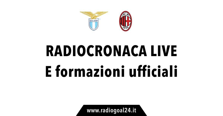 Lazio-Milan, allterta meteo: non è escluso il rischio rinvio