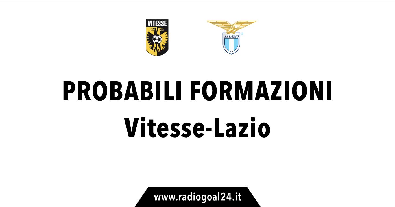 La Lazio affronta il Vitesse, Inzaghi annuncia:
