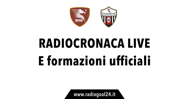 Salernitana-Ascoli 0-0, le dichiarazioni di Ricci nel post partita