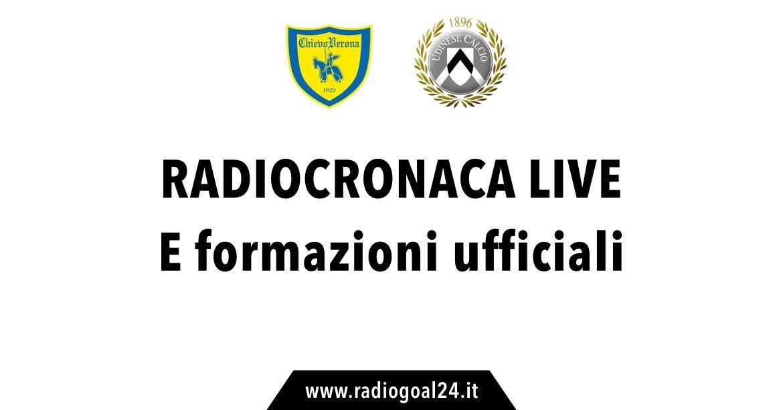 Pronostici serie A: X di Chievo-Udinese a 3,10