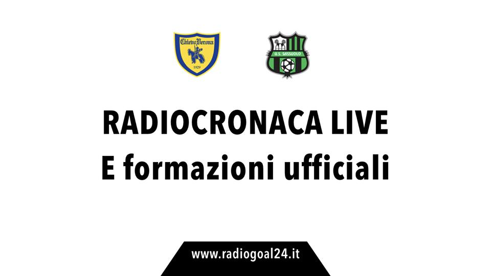 Serie A, Chievo-Sassuolo 0-0. Il tabellino
