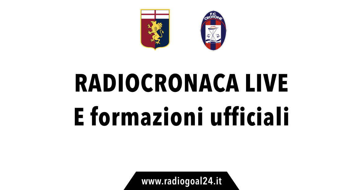 Diretta/ Genoa-Crotone (risultato live 0-0) streaming video e tv: equilibrio al Ferraris